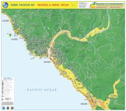 Brookings Oregon Map Maps of Local Interest | Brookings, OR   Official Website