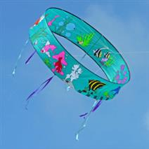 Kite with nautical motif