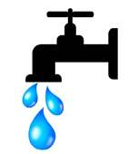 Graphic image of water faucet