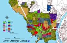 Brookings Zoning Map